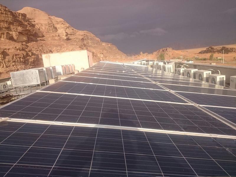 Projet solaire Restar 32KW en Jordanie 2016