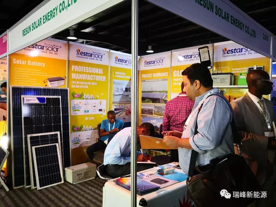 Restar Solar présente les derniers produits à la Nigeria Power Expo 2018